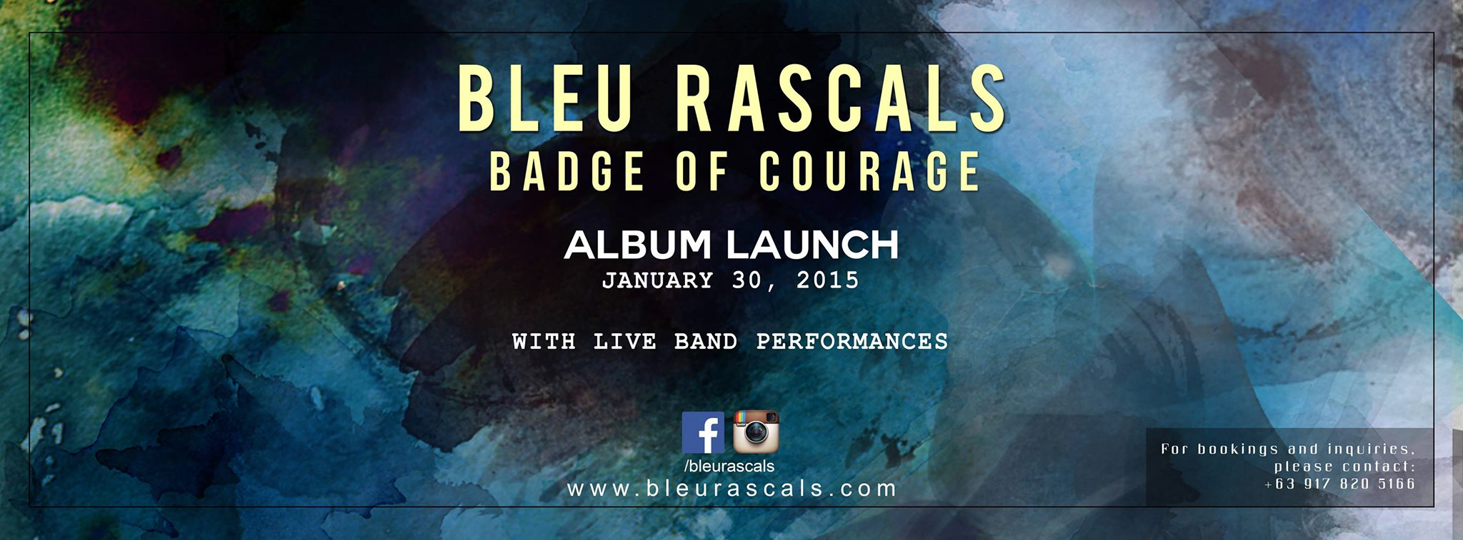 Bleu Rascals Album Launch Jan.30