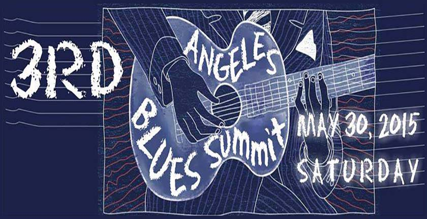 3rd Annual Angeles Blues Summit - banner 840