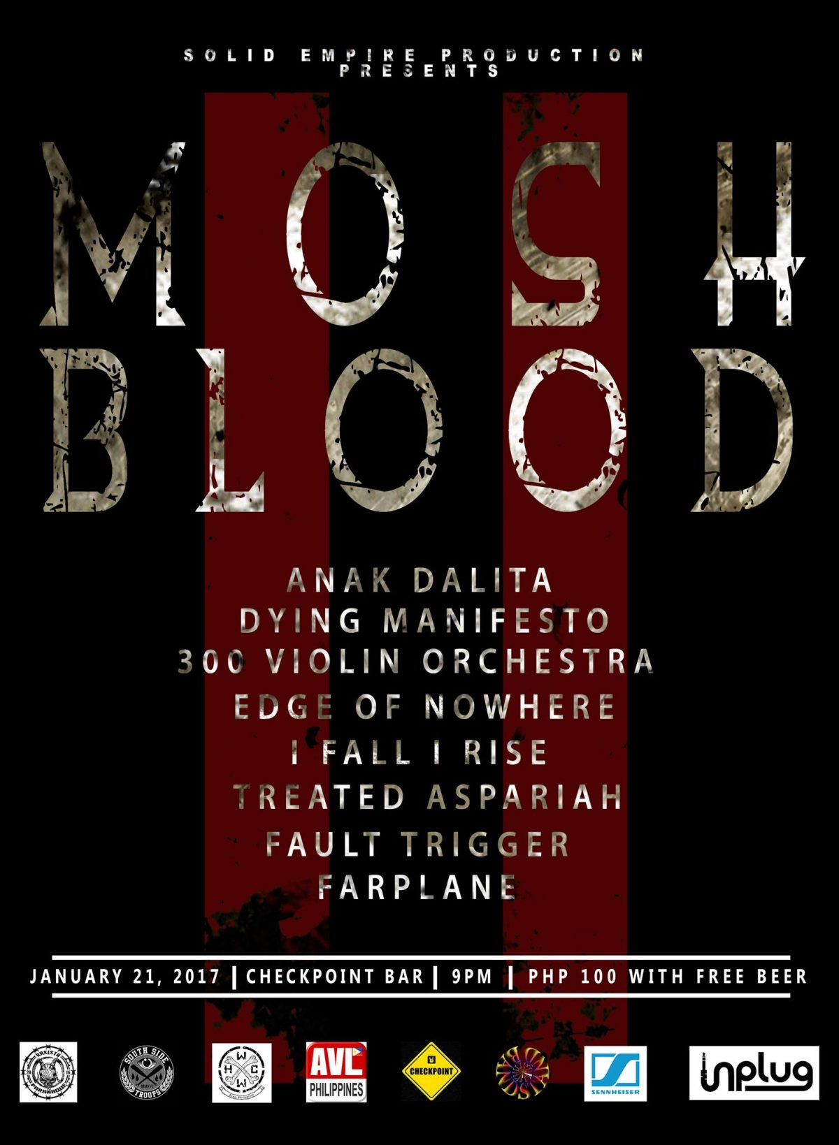 """MOSH AND BLOOD 11"""