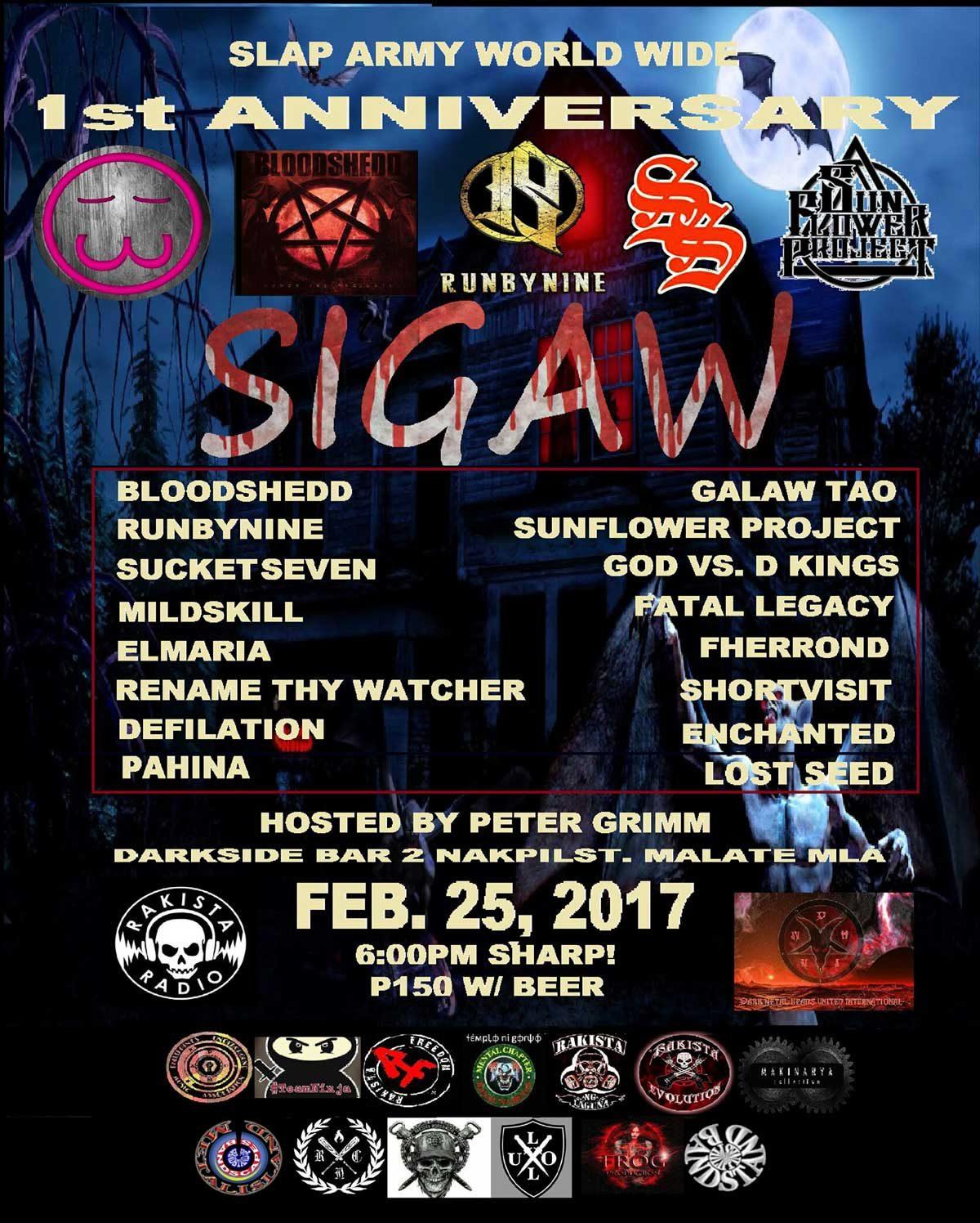 Slaparmy Worldwide 1st Anniversary