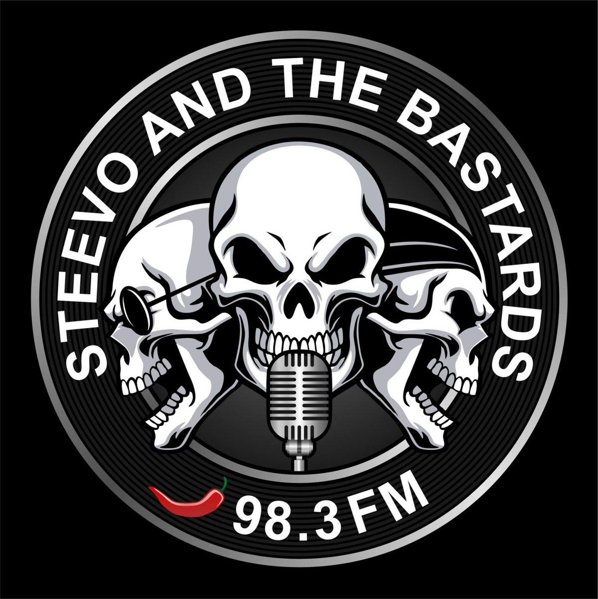 Steevo And The Bastards on 98.3 FM WROGN Radio!