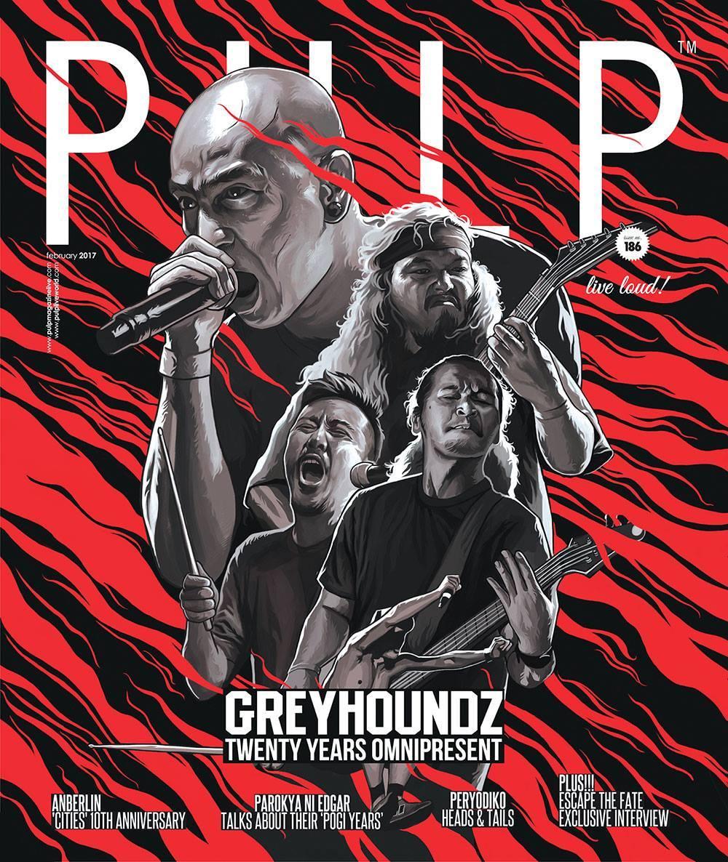 GREYHOUNDZ x PULP 2017 February Issue 186