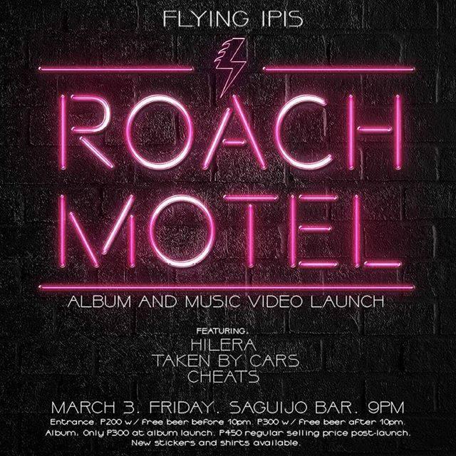 Flying Ipis ROACH MOTEL album & mv launch