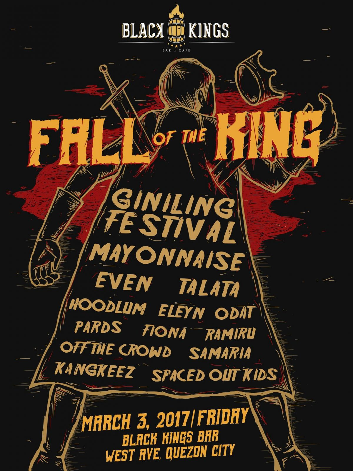 FALL Of The KING