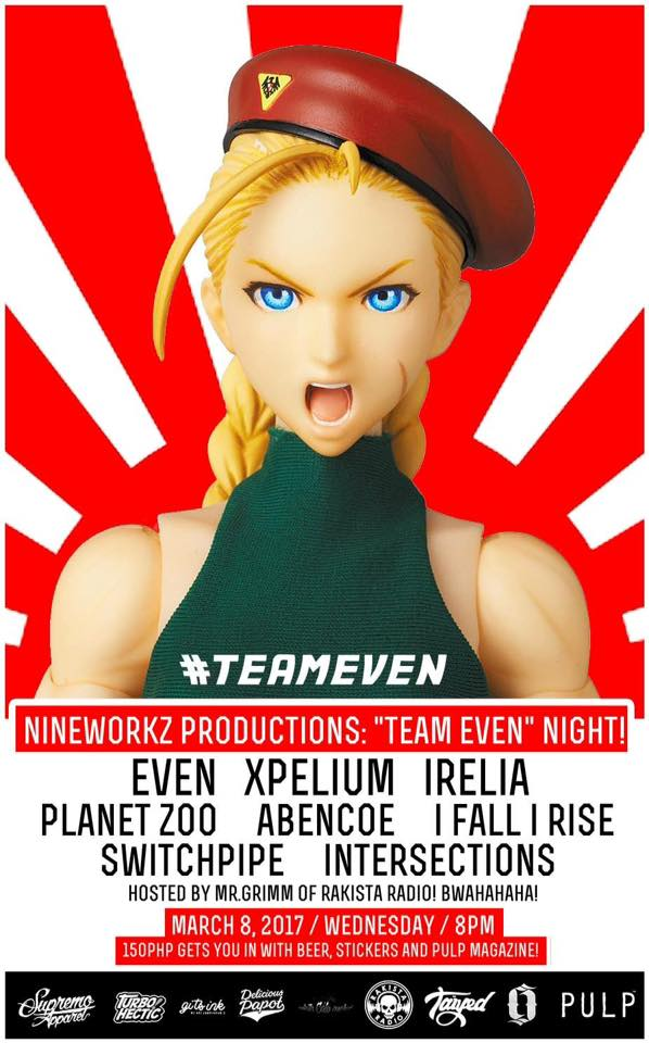 Nineworkz Productions #TeamEVEN Night!