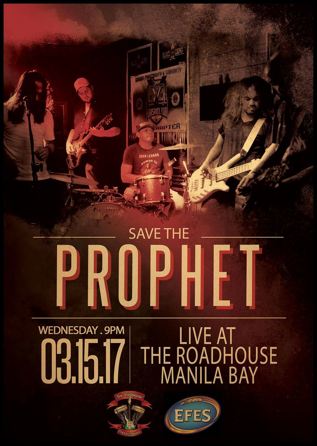 Save The Prophet #Grunge #STPatRoadhouse 03.15.17
