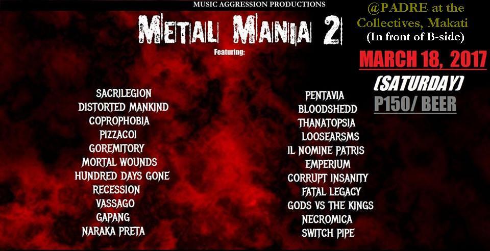 METAL MANIA 2