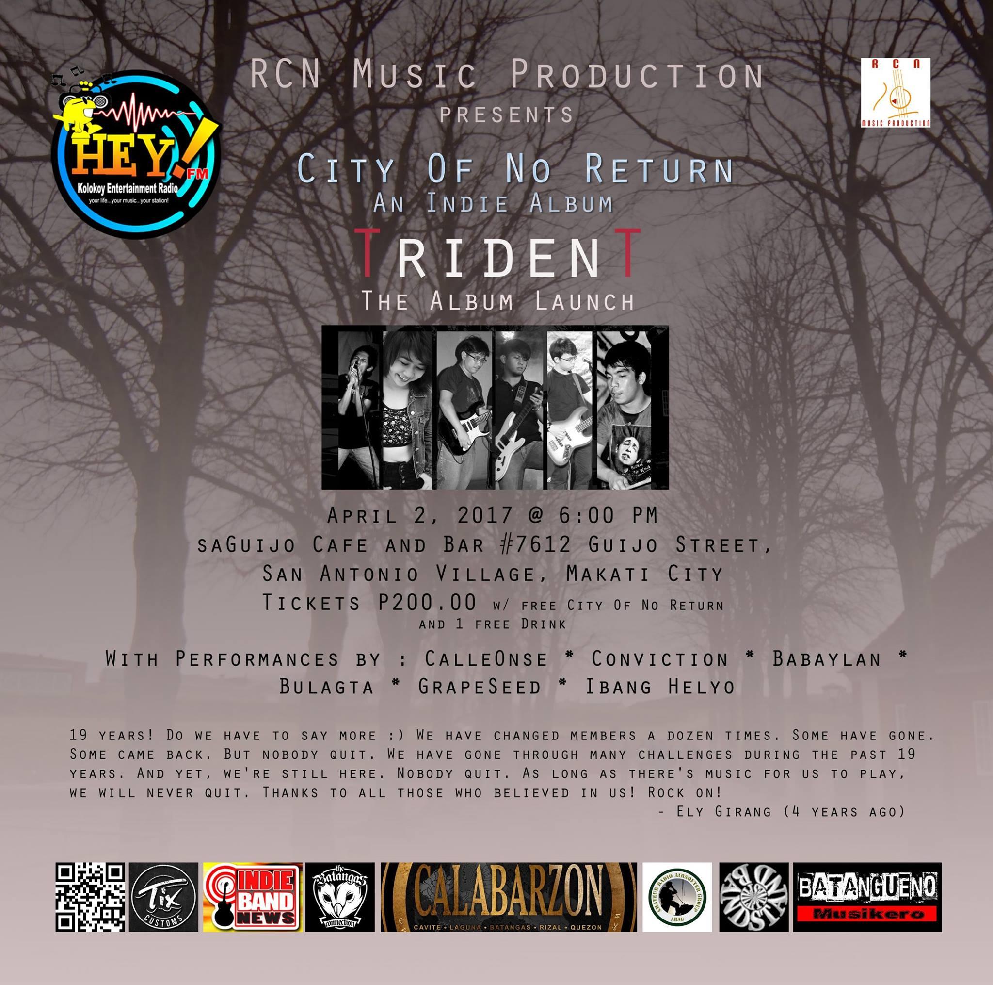 TridenT - City Of No Return