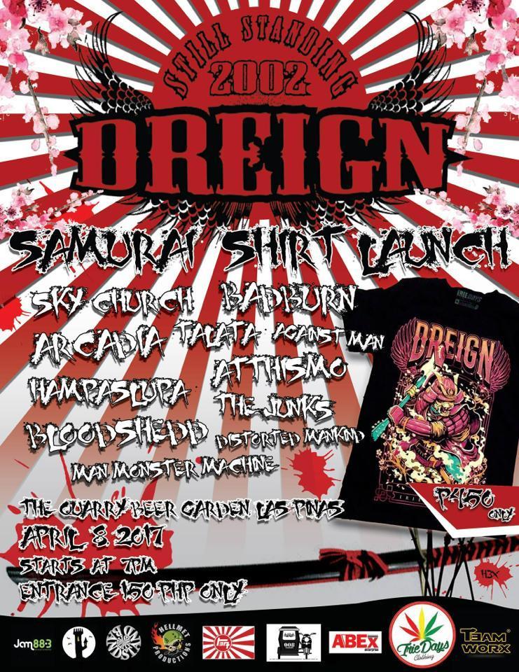 Dreign Samurai Shirt Launch